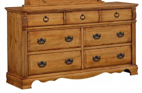Georgetown Golden Honey Pine Dresser