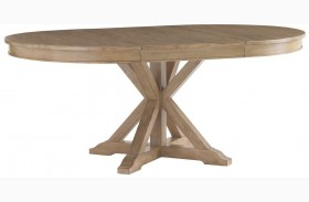 Monterey Sands San Marcos Extendable Round Dining Table