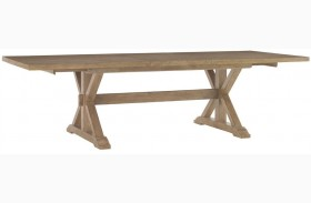 Monterey Sands Walnut Creek Extendable Rectangular Dining Table
