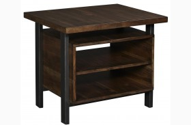 Cassidy Rectangular Toffee End Table