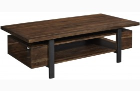 Cassidy Rectangular Toffee Coffee Table