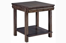 Montreat Graphite End Table
