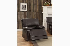 Cassville Dark Brown Reclining Chair