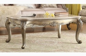 Fiorella Gold Marble Top Cocktail Table