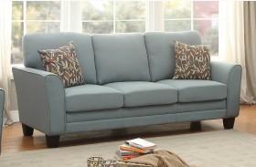 Adair Teal Sofa