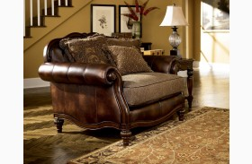 Claremore Antique Chair and Half