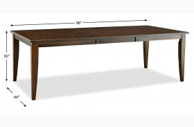 Carturra Rich Chocolate Dining Table