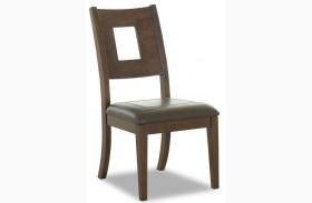 Carturra Rich Chocolate Side Chair