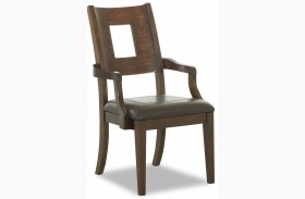 Carturra Rich Chocolate Arm Chair