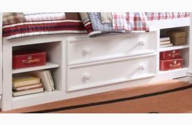 SummerTime Fresh White Twin Underbed Storage