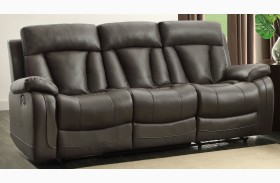 Ackerman Grey Double Reclining Sofa