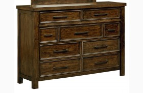 Cameron Burnished Tobacco Dresser