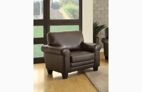 Hume Dark Brown Chair
