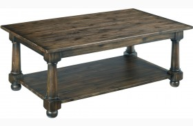 Wildfire Ember Rectangular Cocktail Table