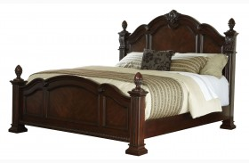 Churchill Cherry King Poster Bed