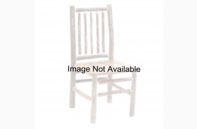 Hickory Rustic Alder Seat Spoke Back Side Chair