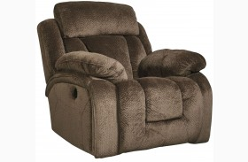 Stricklin Brown Power Rocker Recliner