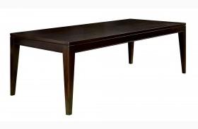 Brighton Merlot Rectangular Extendable Leg Table