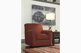 Doralin Steel Swivel Accent Chair