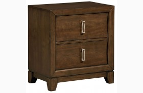 Amanoi Warm Mink Nightstand