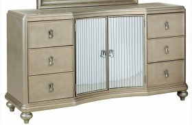 Platinum Door Dresser