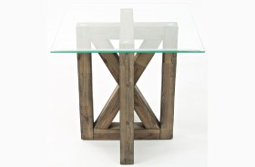 Hampton Road Square End Table