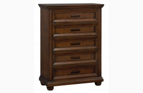 Vineyard Casual Tobacco Drawer Chest