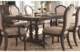 Monarch Trestle Extendable Dining Table