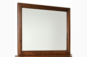 Metro Dark Merlot Mirror