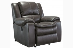 Long Knight Gray Rocker Recliner