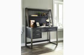 Graphite Desk with Hutch