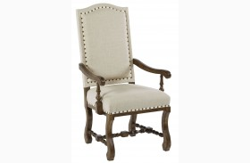 Artisans Shoppe Tobacco Arm Chair Set of 2