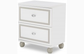 Sky Tower White Cloud Nightstand