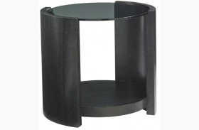 Carrera Firano Round End Table