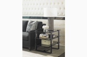 Carrera Rhodium End Table