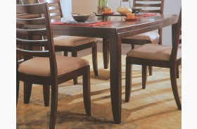 Tribecca Root Beer Extendable Leg Dining Table