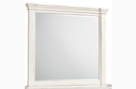 Chesapeake Bay Vintage Chalk White Mirror
