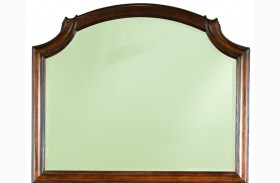 Evolution Scroll Top Bureau Mirror