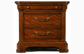 Evolution Three Drawer Nightstand