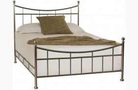 Camden Black Full Metal Bed