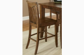 Arbor Hills Slat Back Counter Chair Set of 2