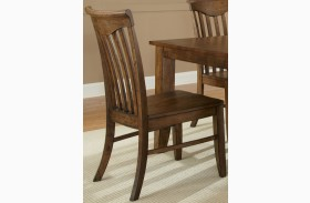 Arbor Hills Slat Back Side Chair Set of 2