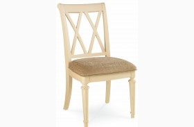 Camden Buttermilk Splat Side Chair