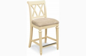 Camden Buttermilk Counter Height Stool