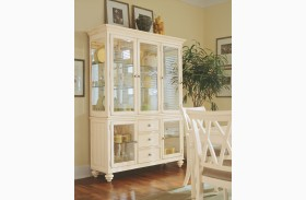 Camden Buttermilk China Cabinet