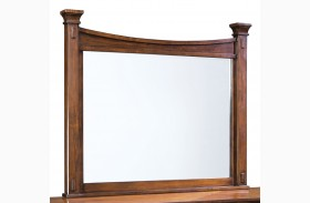 Artisan Loft Warm Medium Oak Landscape Mirror