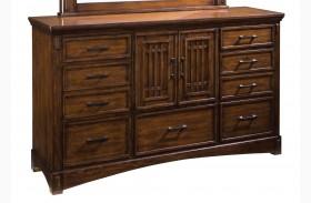Artisan Loft Warm Medium Oak Dresser