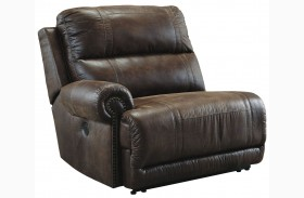 Luttrell Espresso LAF Zero Wall Power Recliner