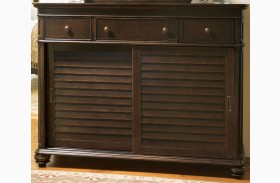 Paula Deen Home Tobacco The Lady's 6 Drawer Dresser