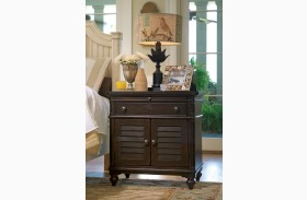 Paula Deen Home Tobacco 1 Drawer Door Nightstand